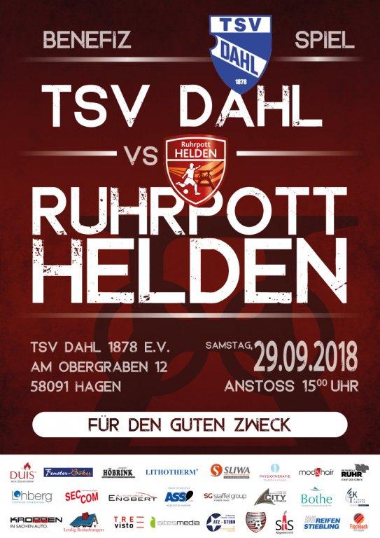 Benefizspiel Ruhrpotthelden vs. TSV Dahl 1878 e.V. •Hagen @ 58091 Hagen | TSV Hagen | Hagen | Nordrhein-Westfalen | Deutschland