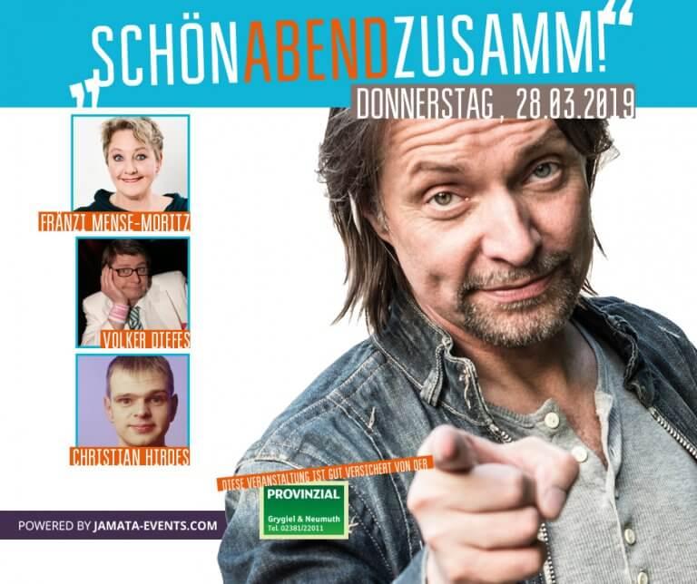 SchönAbendZusamm! • Fränzi Mense-Moritz | Volker Diefes | Christian Hirdes @ to hoop