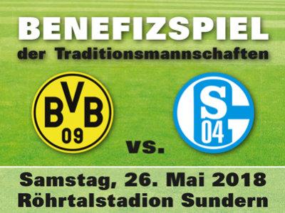 Benefizspiel 2018 Schalke vs. BVB